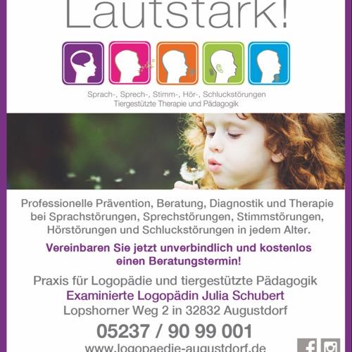 Logo/Bild von Lautstark! Praxis für Logopädie Julia Schubert